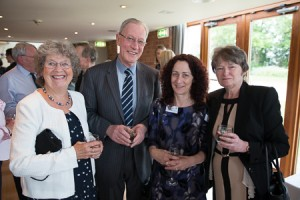 Julia and Stuart Westmoreland; Catherine Sharp; Sue Flowers