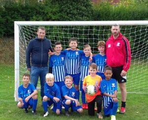 Clayton & Brewill sponsors local football team